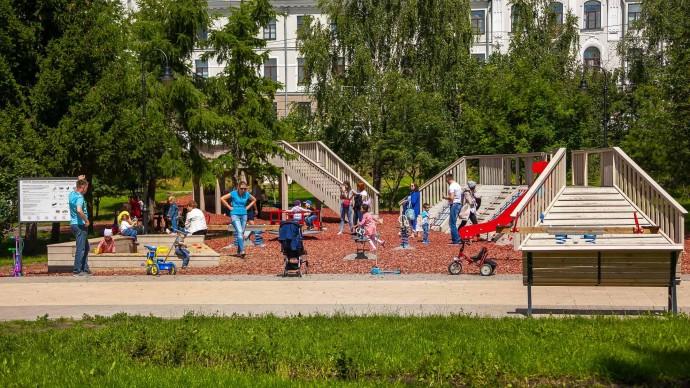В парке «Черное озеро» устроят распродажу детских книг