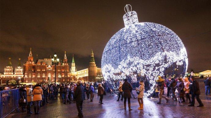 Экскурсии в новогоднюю ночь в москве