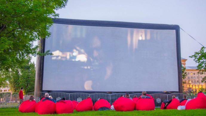В саду «Эрмитаж» открывают летний кинотеатр