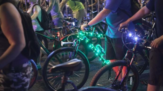 В Алматы проведут очередной массовый велопробег