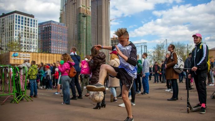 Городской фестиваль Streetosphere