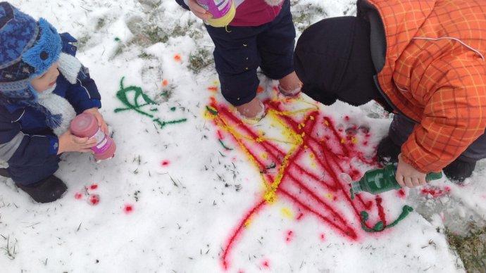 В «Сокольниках» устроят конкурс рисования на снегу