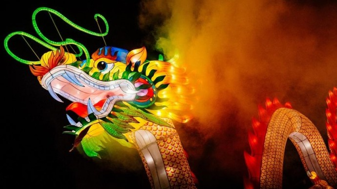 Фестиваль волшебных фонарей в «Сокольниках»