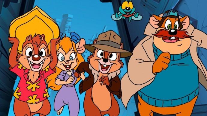 Disney переснимет мультсериал по Чипа и Дейла