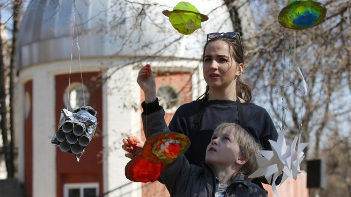 Московские парки отметят День космонавтики
