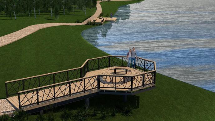 Продолжается благоустройство Рогожинского парка в Туле