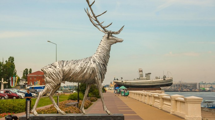 В центре Нижнего Новгорода ограничат движения транспорта