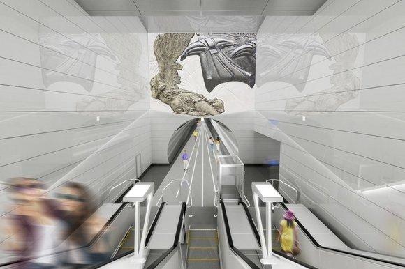 На «Авиамоторной» БКЛ появятся «Летающие люди»