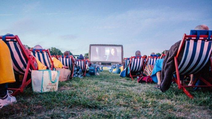 В парке Маяковского проходят бесплатные кинопоказы