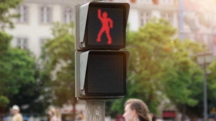 В Москве появился «танцующий» светофор