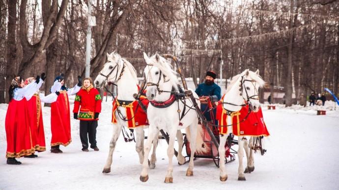 В восьми московских парках устроят «Путешествие в Рождество»
