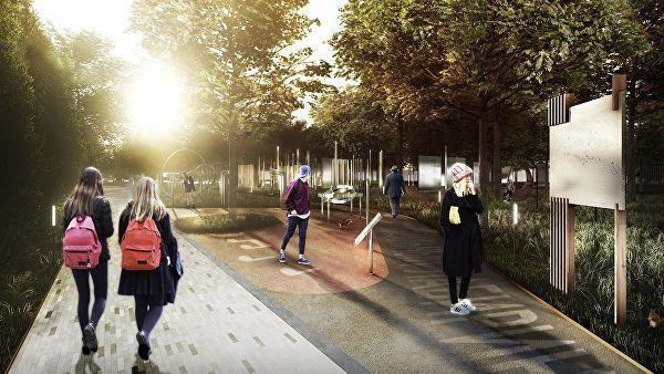 В парке Дружбы откроют новую аллею для памятников