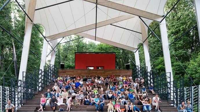 В парке «Фили» открывается летний кинотеатр