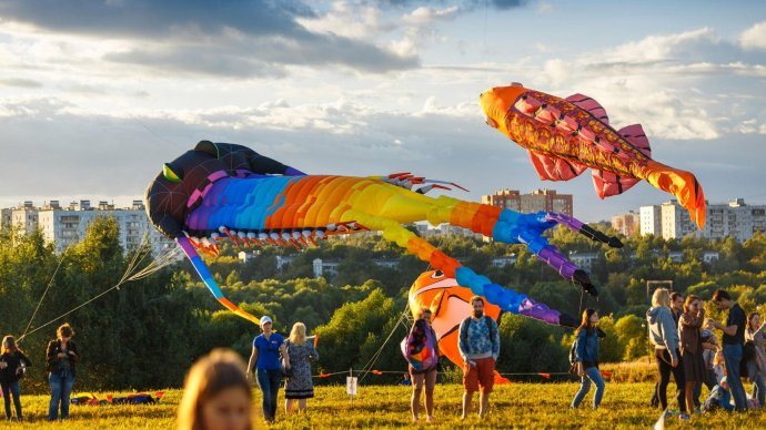 В парке Маяковского устроят фестиваль воздушных змеев