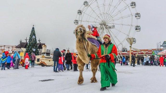В семейном парке Skazka открылась «Фабрика Рождества»