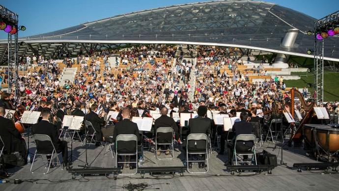 Строительство концертного зала в «Зарядье» подходит к концу