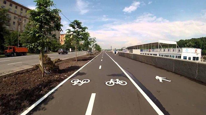 В центре Москвы появятся велодорожки на 23 улицах