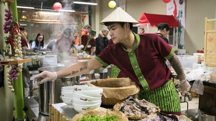 Фестиваль вьетнамской уличной еды пройдет в Москве
