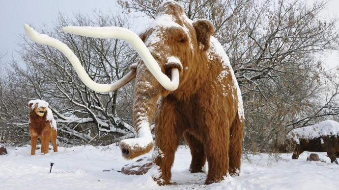 В парке Skazka познакомят с обитателями Ледникового периода