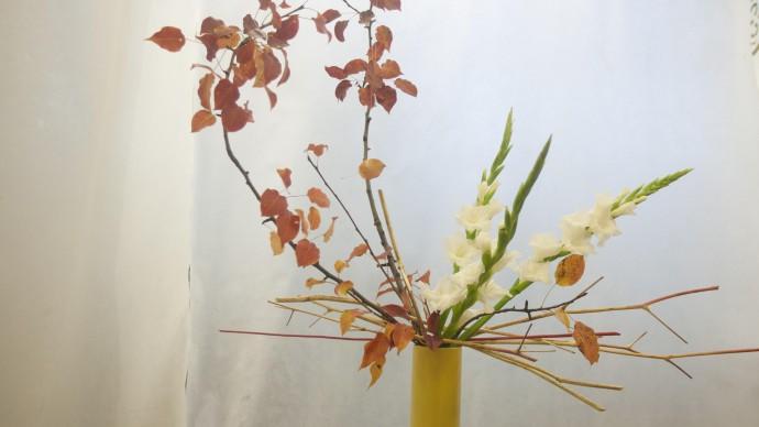 В музее «Царицыно» открылась выставка искусства икебаны