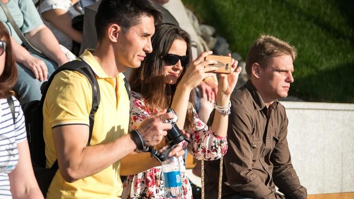 Фестиваль молодых семей в Измайловском парке