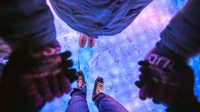 Ледовый карнавал в «Лужниках»