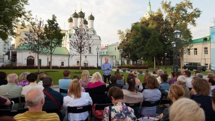 Музей Москвы вновь запустил Уличный лекторий