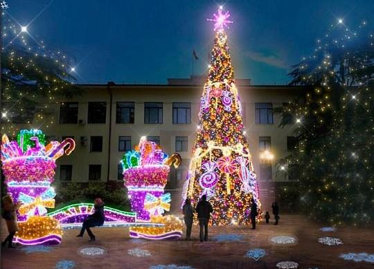 В администрации города представили варианты украшения города на праздники