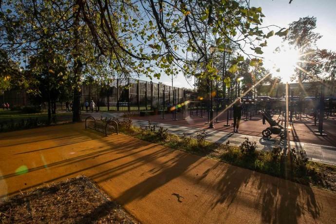 Новое: Детский Черкизовский парк после благоустройства