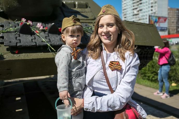 Фото: День победы в парке «Строгино»