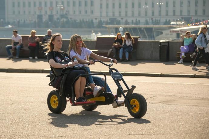 Прокаты в парках Москвы: обзор ParkSeason