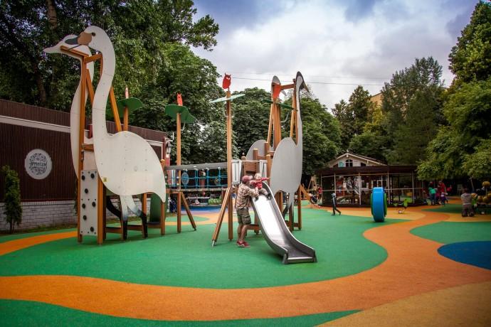 «В парк с детьми»: обзор сада «Эрмитаж»
