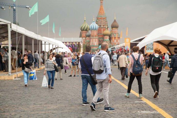 Фото: Книжный фестиваль «Красная площадь»