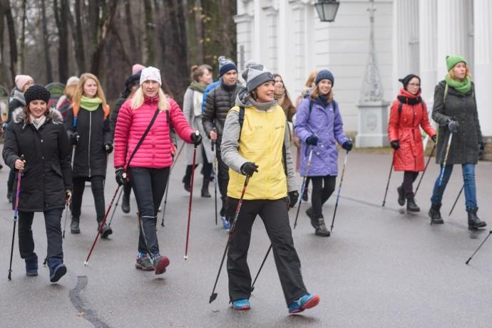 Фото: фестиваль скандинавской ходьбы «Ходи, Россия»