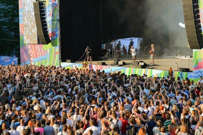 Топ-5 летних фестивалей в Петербурге