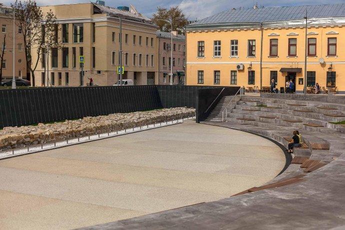 Как выглядит Хохловская площадь после реконструкции?