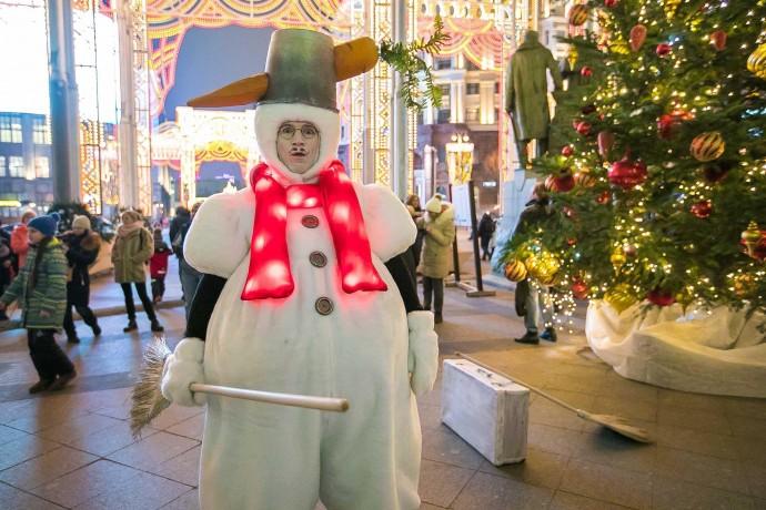 «Путешеcтвие в Рождеcтво»: программа в парках Моcквы