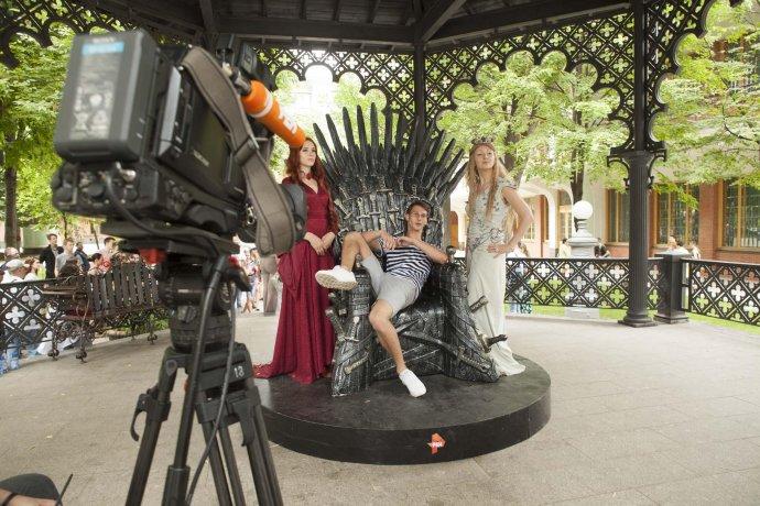 Фото: Фестиваль «Игры престолов» в Саду «Эрмитаж»