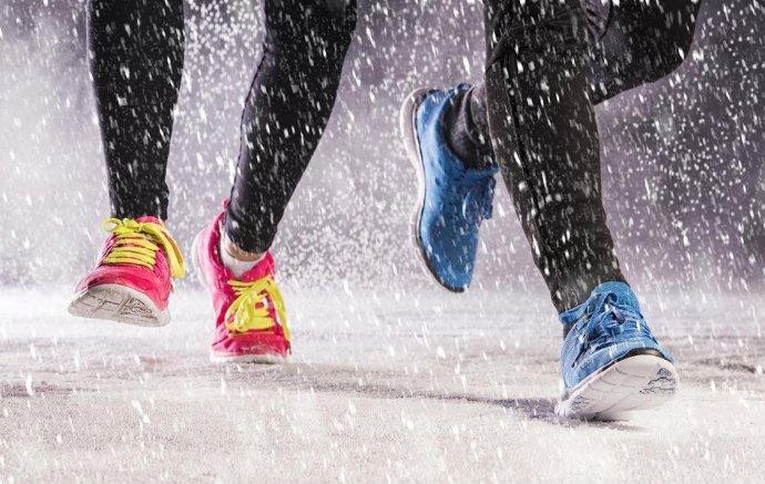 Зимний спорт в московских парках
