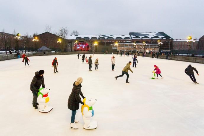 Где кататься на коньках в Санкт-Петербурге: гид ParkSeason