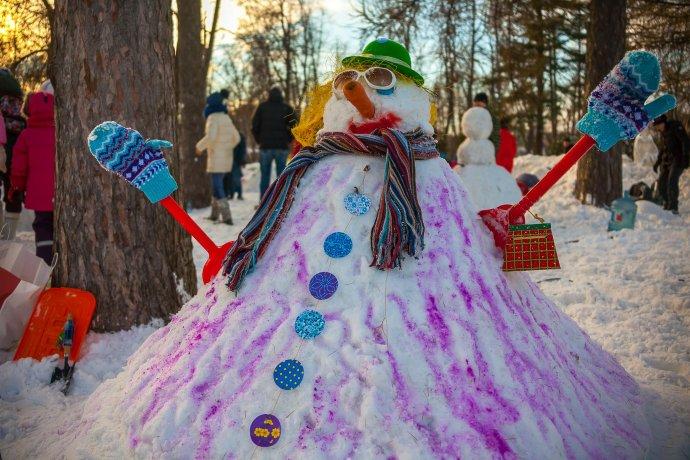 Фестиваль снеговиков. Как это было?