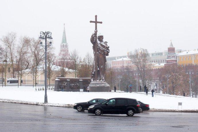 Новое: Памятник князю Владимиру в Москве