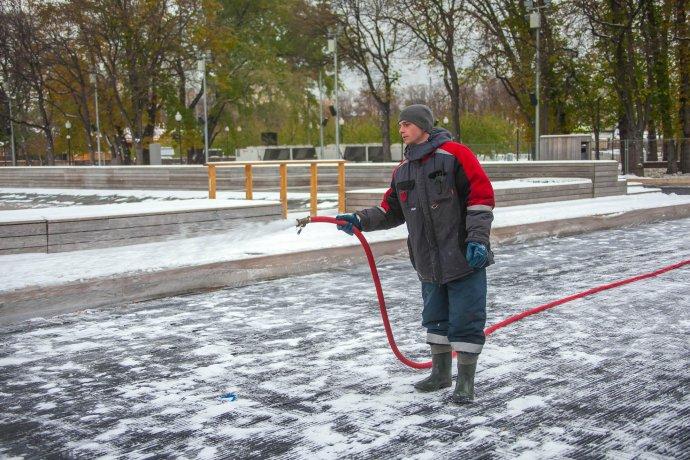 Как будет выглядеть каток в Парке Горького в новом сезоне