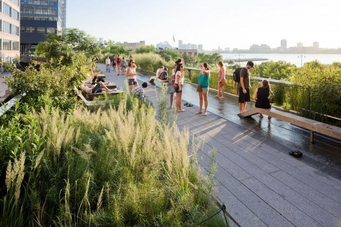 Лучшие парки мира: Хай-Лайн парк, Нью-Йорк
