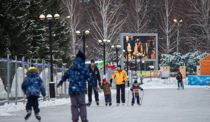 Где покататься на коньках в новогодние праздники: 5 идей ParkSeason