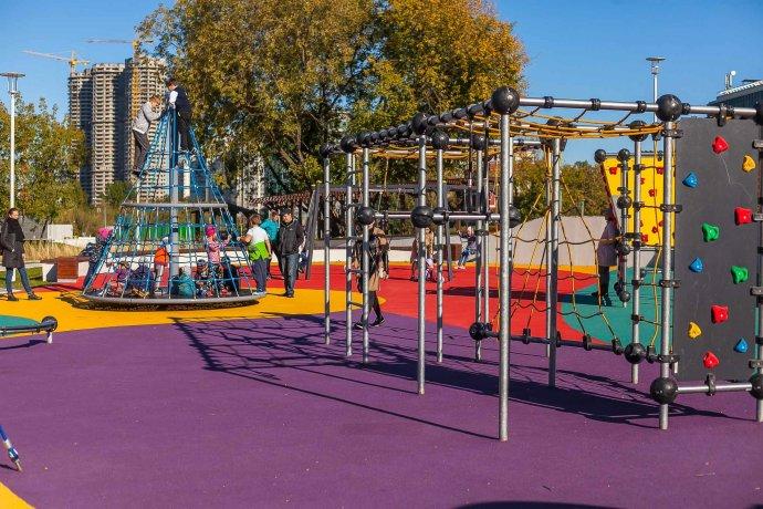 Как выглядит новый «Академический» парк?
