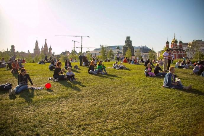 «В парк с детьми»: обзор парка «Зарядье»