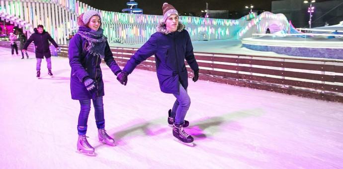 Напоминание дня: в каких парках можно кататься на коньках до середины марта