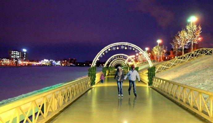 4 лучших катка под открытым небом в Казани