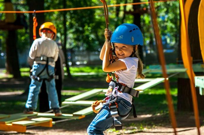 Веревочные парки Москвы: обзор ParkSeason